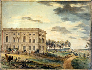 The Capitol in Washington, circa 1800