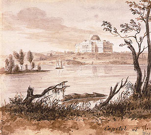 View of the Capitol, 1839