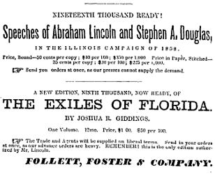 Advertisement for The Exiles of Florida