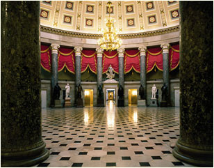 Statuary Hall in the U.S. Capitol