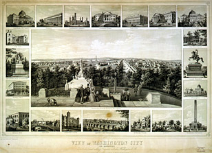 Views of Washington City, 1849