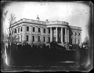 The White House in 1846