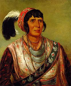 Osceola, by Catlin