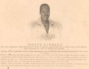 Joseph Cinquez, Congolese leader of the Amistad rebellion
