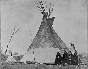 Comanche camp