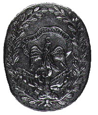 Medal struck by Mexico to honor the Seminole allies