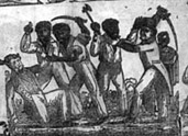 Detail, Massacre of the Whites by Indians and Blacks in Florida