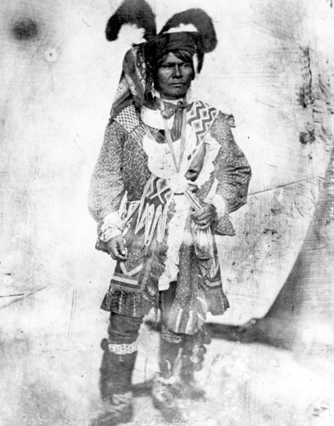 Holata Mico or Billy Bowlegs circa 1852