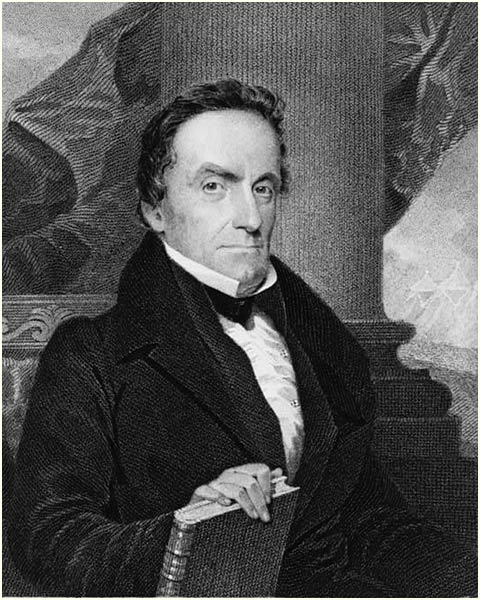 Lewis Cass, after Longacre
