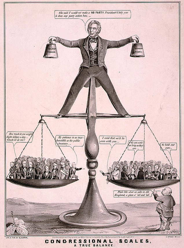 Congressional Scales, a true balance