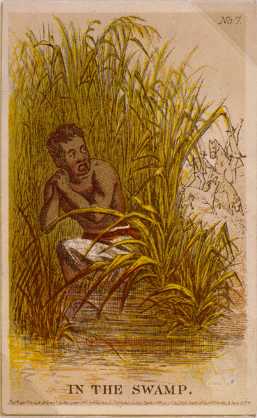 In the Swamp, a fugitive slave