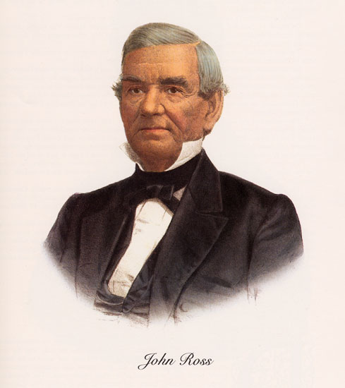 Cherokee leader John Ross
