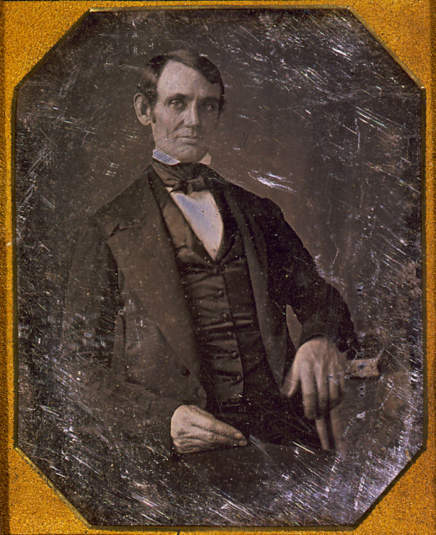 Abraham Lincoln Circa 1847 Enlarged View Rebellion