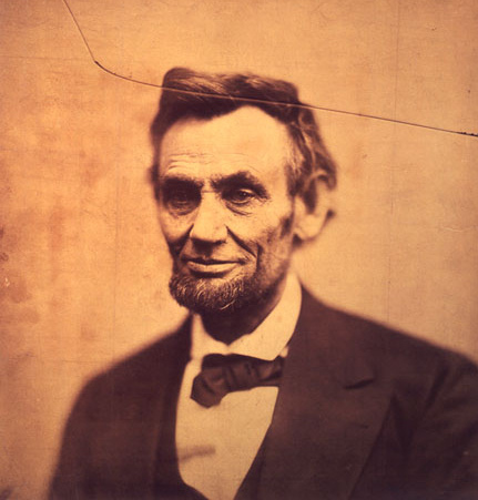 Abraham Lincoln, last photographic portrait