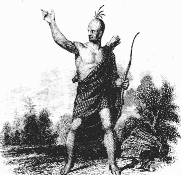 Romantic depiction of Osceola