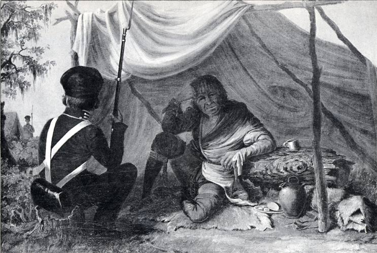 Osceola's capture, attributed to Eastman