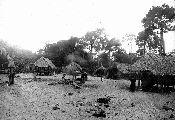 Seminole Village from the 1930s